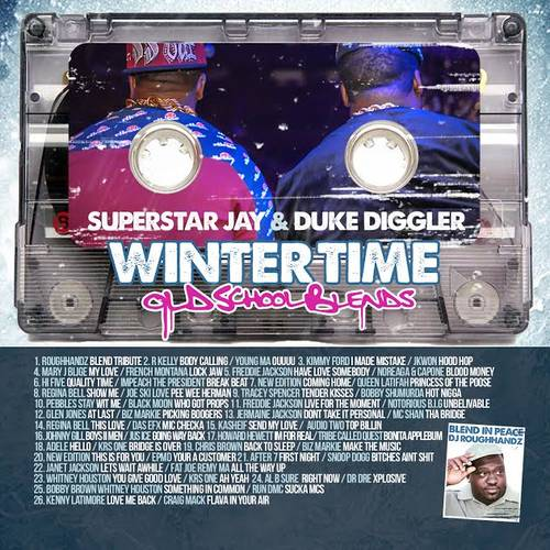 Superstar jay duke diggler winter time old school for Classic house music mixtapes